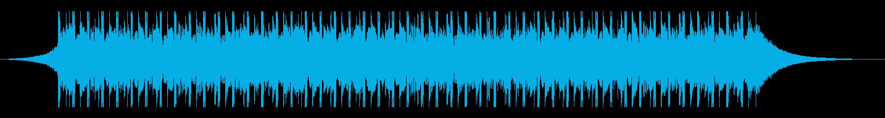 オンラインマーケティング(30秒)の再生済みの波形