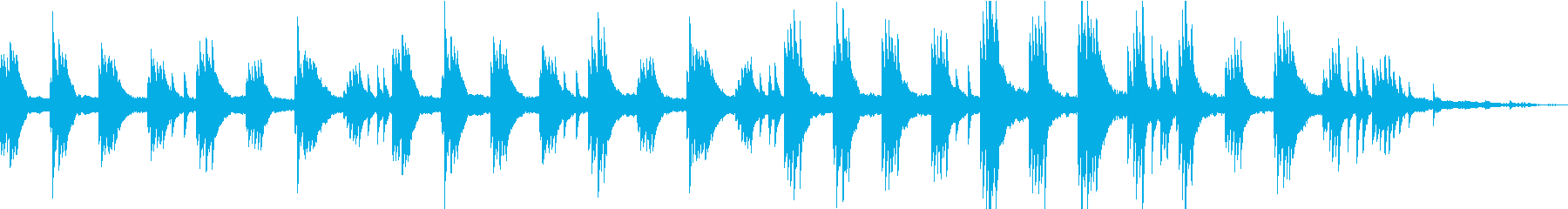 感情的で夢のような映画音楽トラック...の再生済みの波形