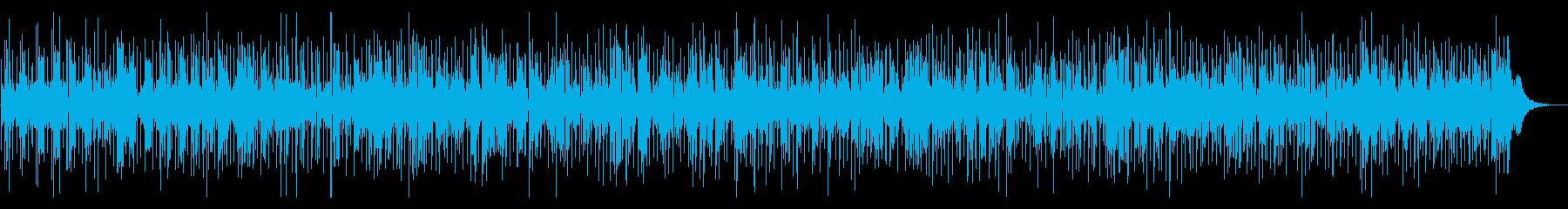 ノリノリのかっこいい踊れる管楽器ファンクの再生済みの波形