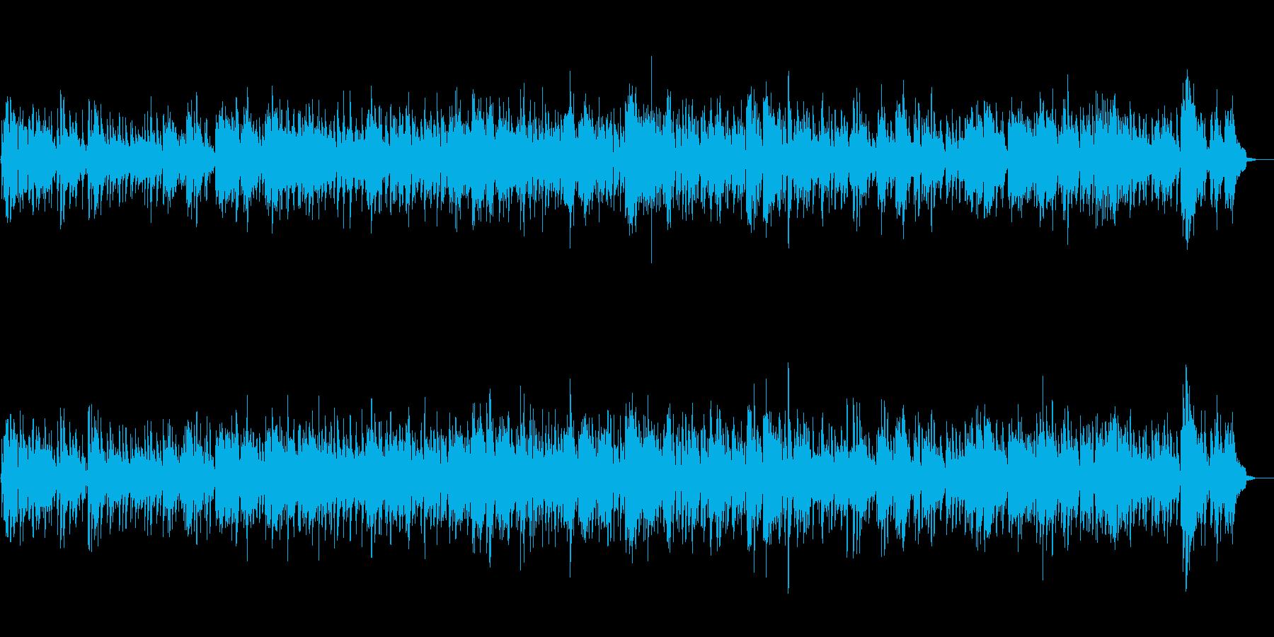 オシャレな夜を演出するジャズバラードの再生済みの波形