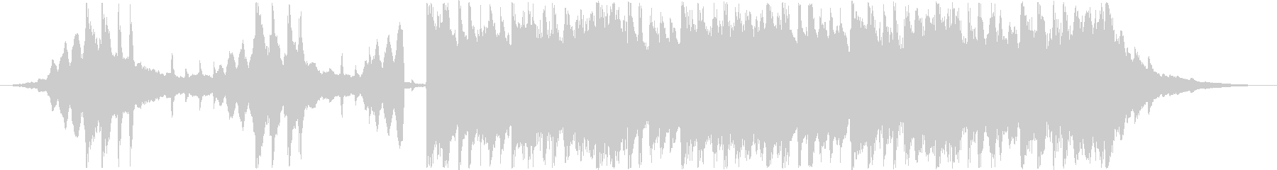 CM用30秒、次世代、スタイリッシュ製品の未再生の波形
