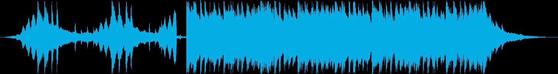 CM用30秒、次世代、スタイリッシュ製品の再生済みの波形
