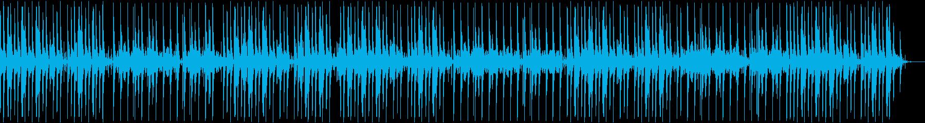 暗めのボイパの再生済みの波形