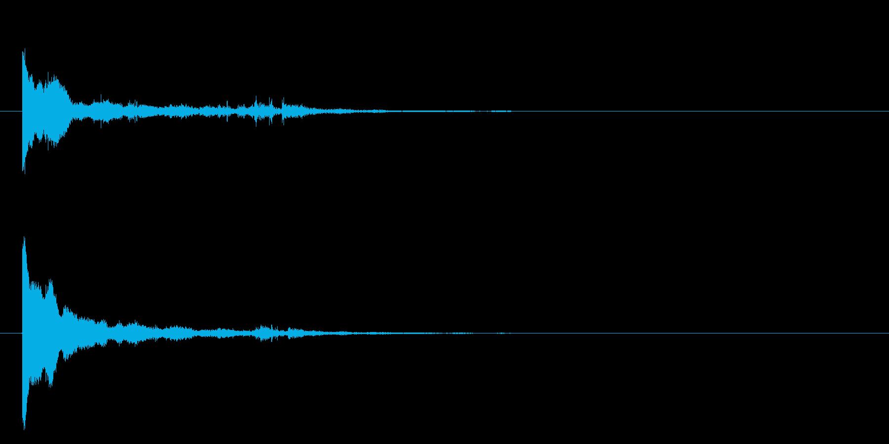 お知らせ グロッケンシュピールロー...の再生済みの波形
