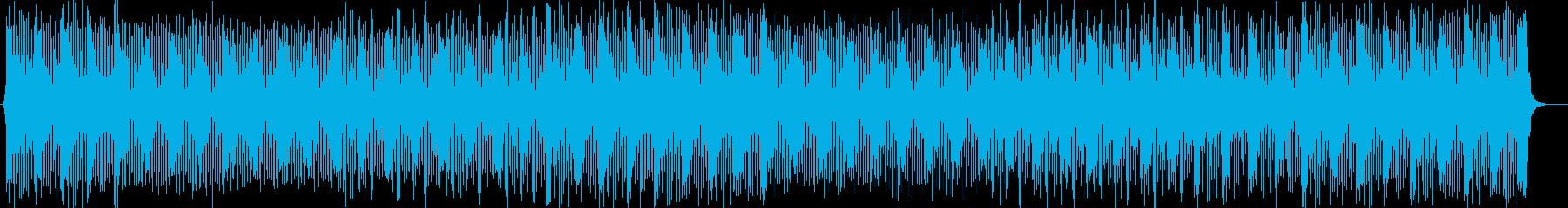 ご機嫌なメロディが楽しい明るいポップスの再生済みの波形