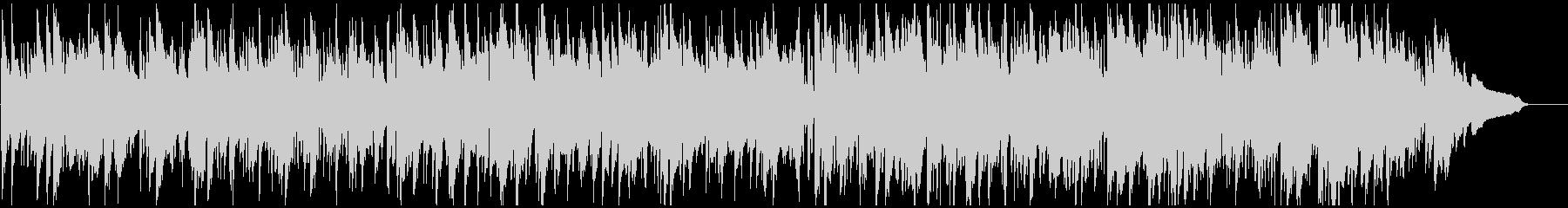 ソフトなボサノバ・ジャズ、お洒落サックスの未再生の波形
