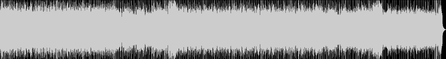 パンクロック風のインストゥルメンタルの未再生の波形