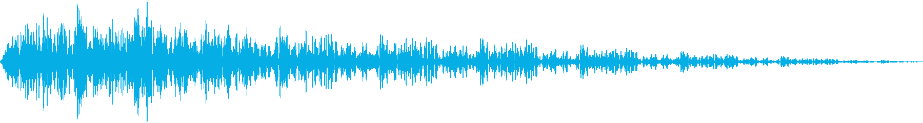 ユニバーサルインパクト2の再生済みの波形