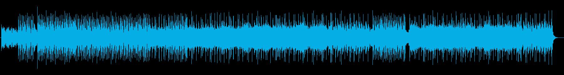 【メロ無し】重くパワフルなハードロックの再生済みの波形
