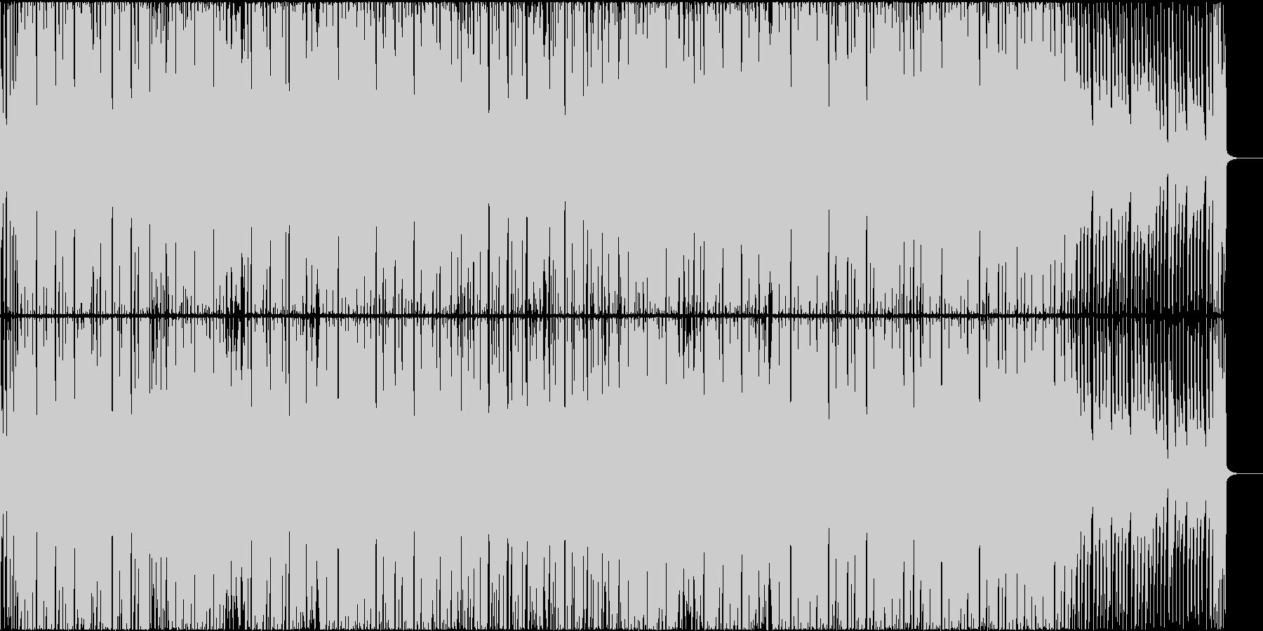 軽快でポップなEDMハウス CM・映像にの未再生の波形