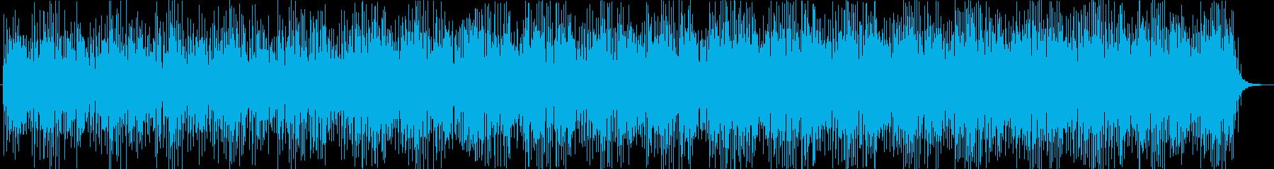 【ニュース系5】クール、無機質bの再生済みの波形
