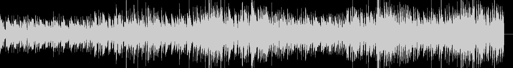 格ゲーのキャラ選択画面っぽいBGMの未再生の波形