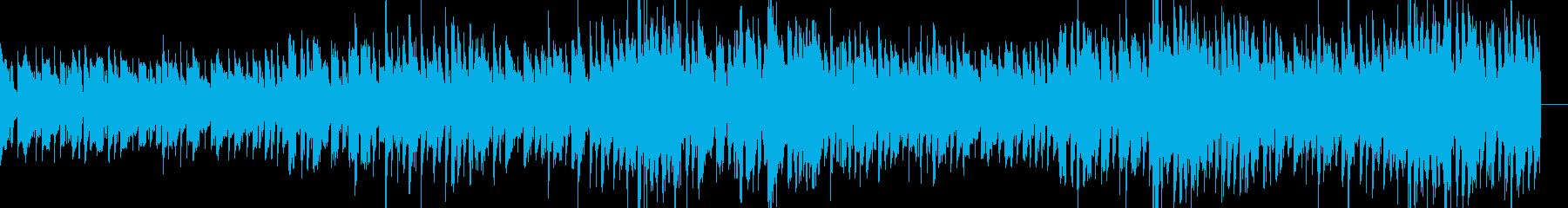 格ゲーのキャラ選択画面っぽいBGMの再生済みの波形