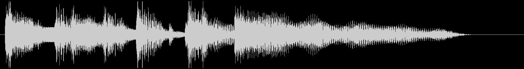 コント、スキットなどの導入ジングルの未再生の波形