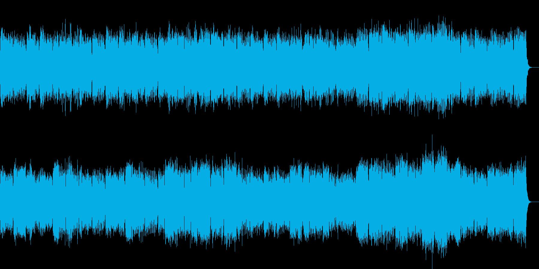 切なさを表現したストリングスの再生済みの波形