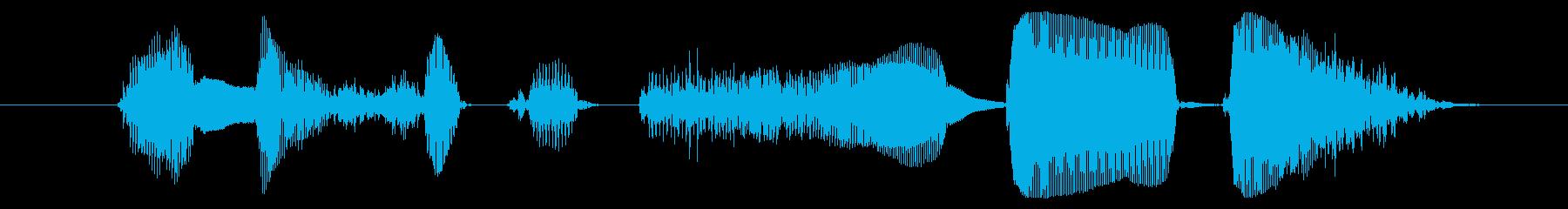 今すぐダウンロード!【①元気/アニメ声】の再生済みの波形
