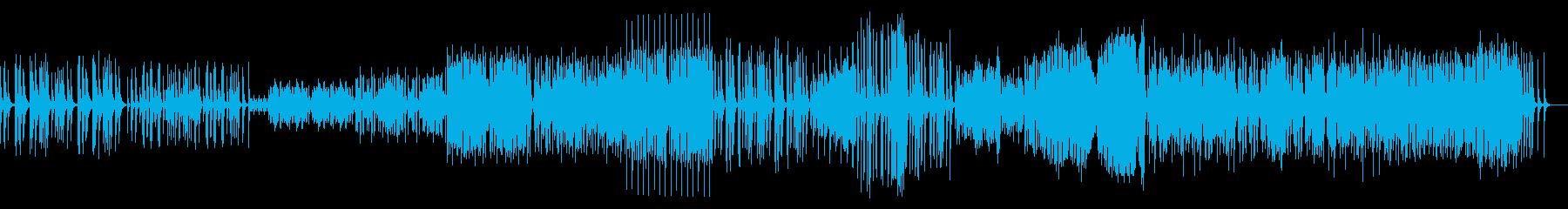 【マリンバ】アルルの女〜ファランドール〜の再生済みの波形