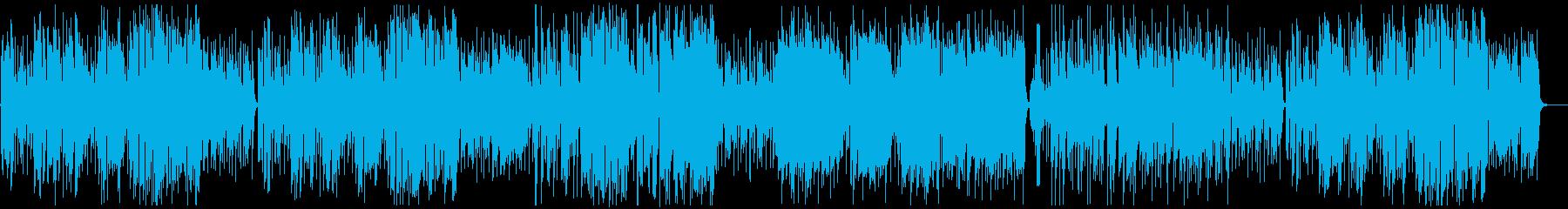 ラッパが渋く大人なジャズファンクの再生済みの波形