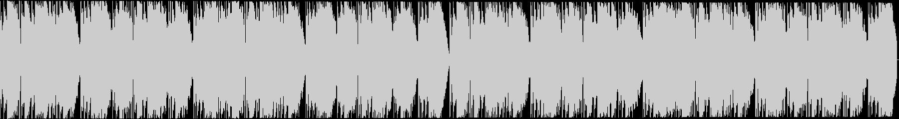 ダークなトラップビート16小節の未再生の波形
