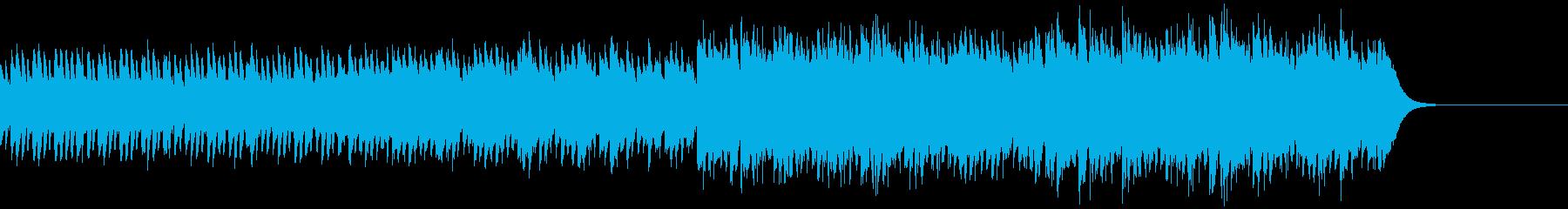発車ベル風の爽やかなBGM/企業VPの再生済みの波形