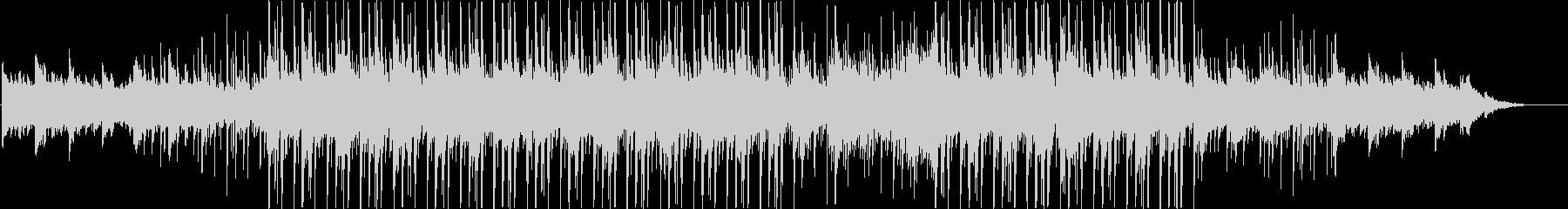 ピアノ、ストリングス、ベース、ドラ...の未再生の波形