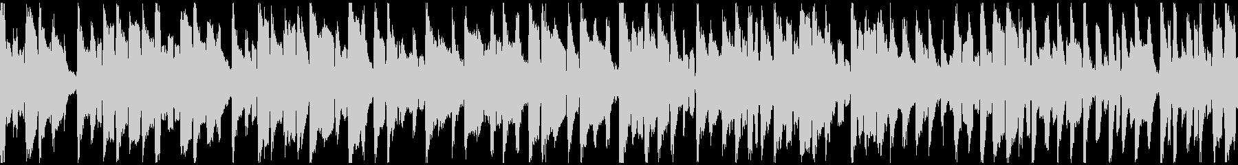 ぐうたら日常的な脱力リコーダー※ループ版の未再生の波形