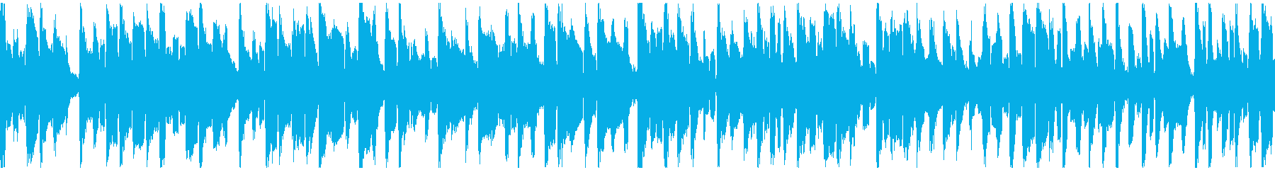 ぐうたら日常的な脱力リコーダー※ループ版の再生済みの波形