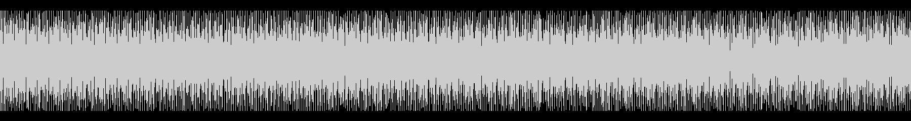 ファミコン 敵、戦闘時のBGM(ループ)の未再生の波形