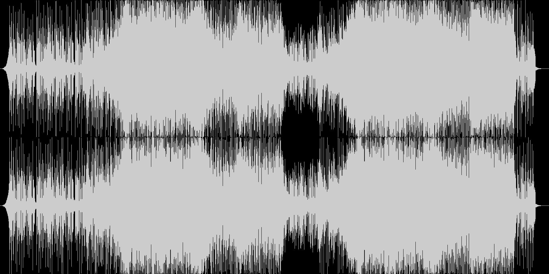 人気のある電子機器 ハウス ダンス...の未再生の波形