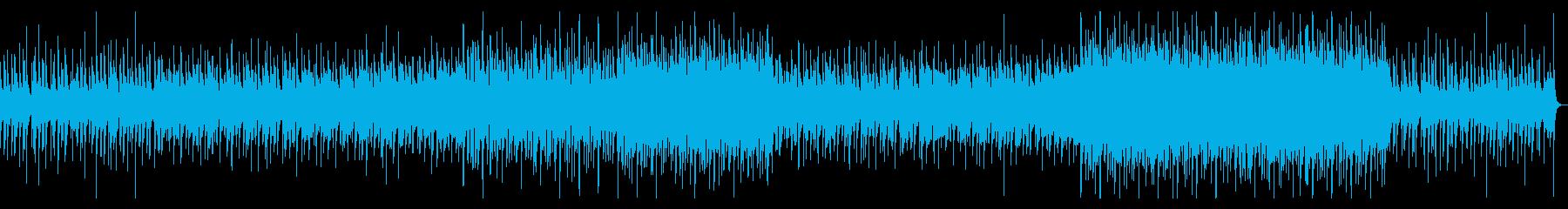 清潔感のあるピアノメイン曲の再生済みの波形