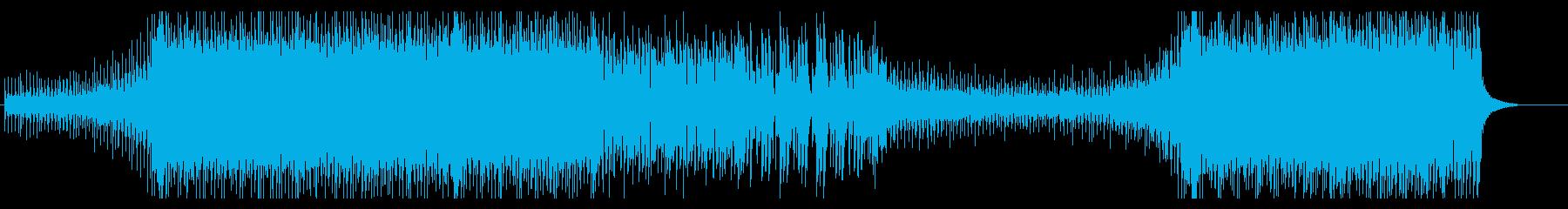 明るく爽やかなエレクトロポップの再生済みの波形
