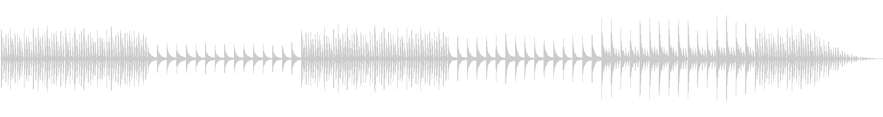 「自我の芽生え」漠然とした不安ピアノソロの未再生の波形