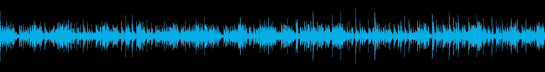 星空を連想する幻想的BGM(ループ仕様)の再生済みの波形