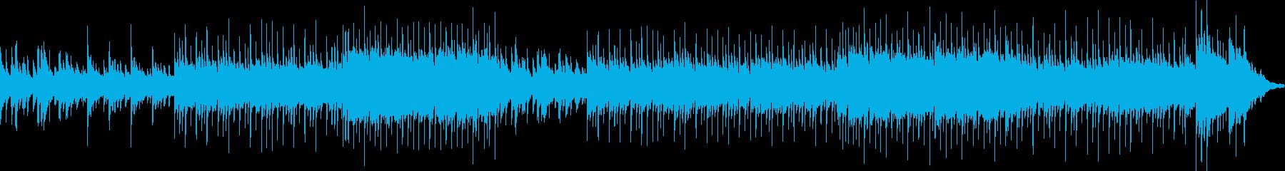 スローリチャードクレイダーマンスタイルの再生済みの波形