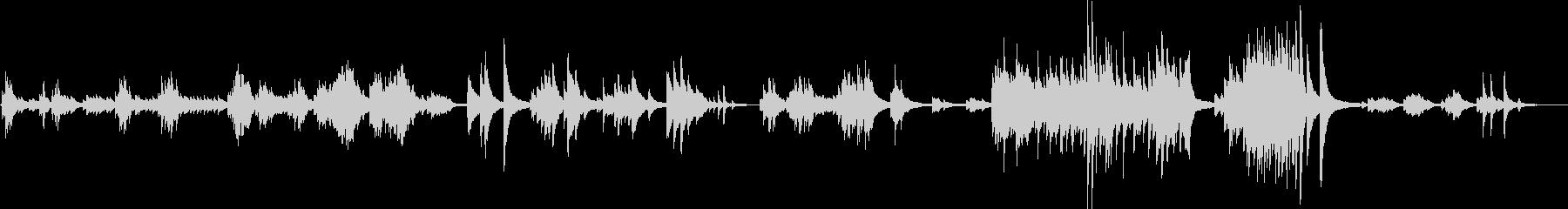 悲しいピアノバラード(切ない・儚い)の未再生の波形