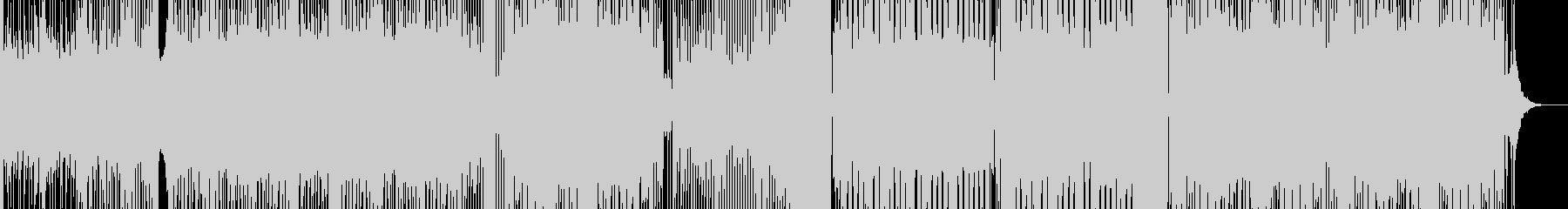 ボーカル無しのラガミュージックの未再生の波形