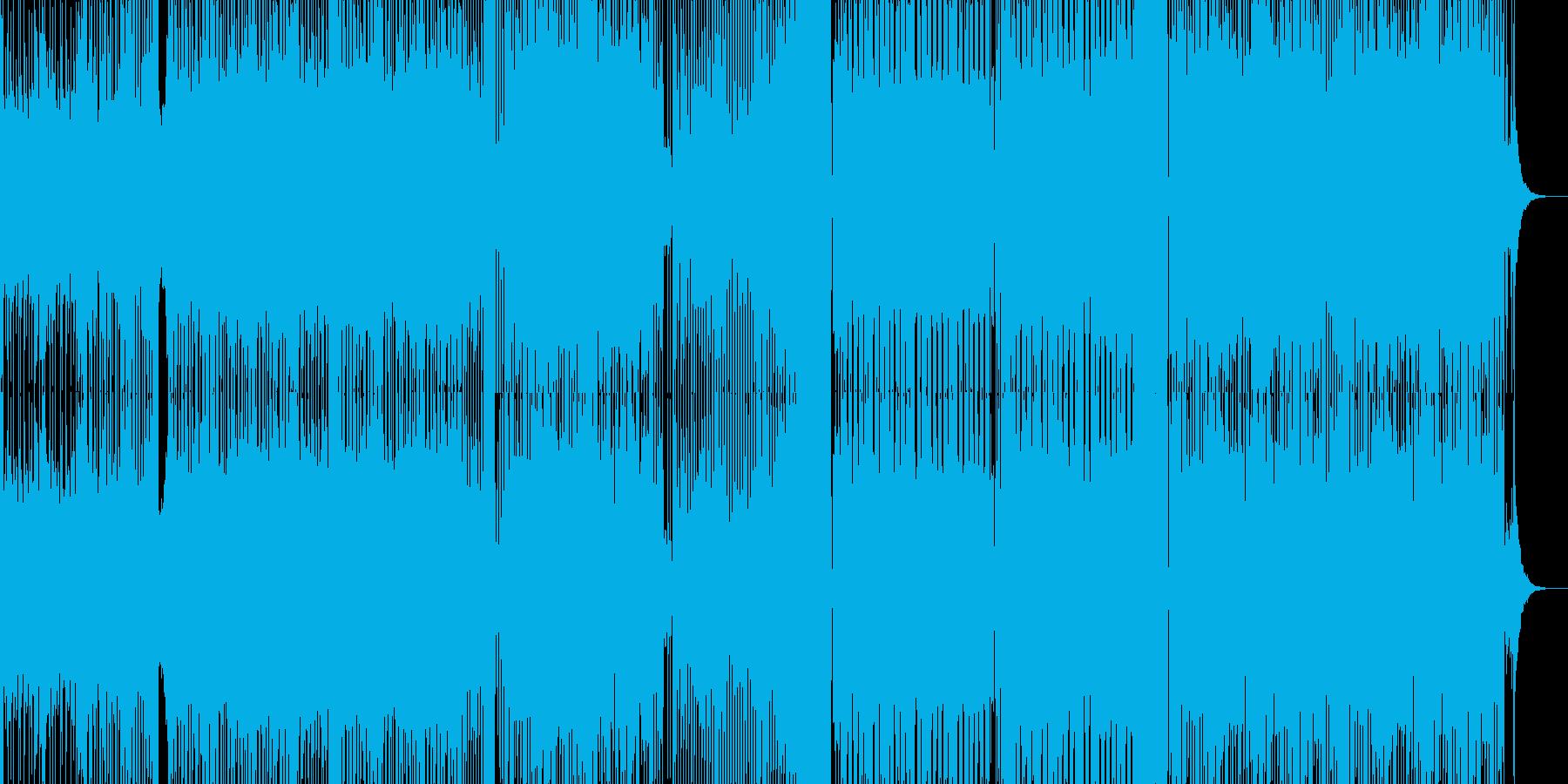 ボーカル無しのラガミュージックの再生済みの波形