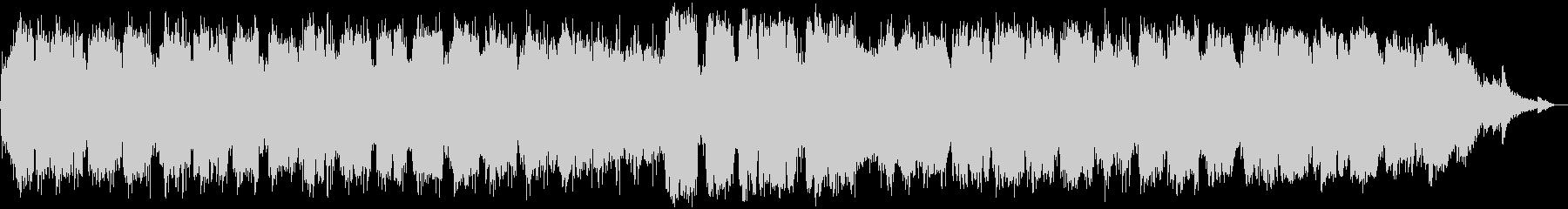 竹笛のヒーリングミュージックの未再生の波形