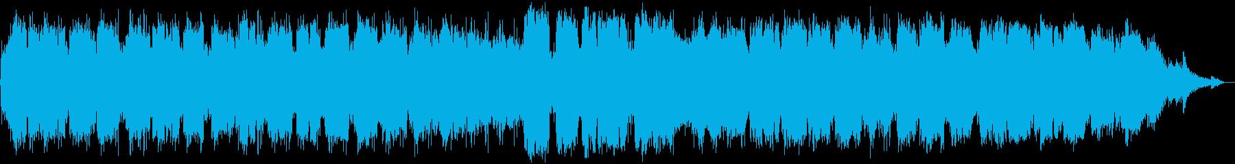 竹笛のヒーリングミュージックの再生済みの波形