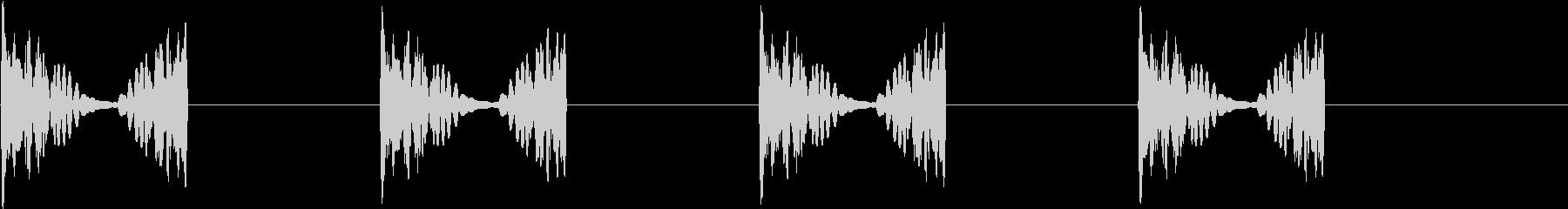 DJプレイ スクラッチ・ノイズ 23の未再生の波形