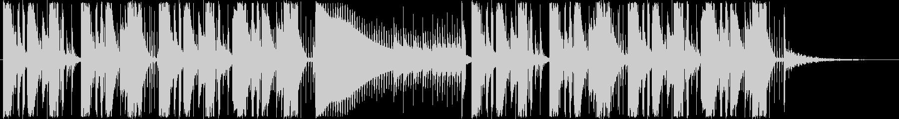 ジングル - トライアングルEDMの未再生の波形