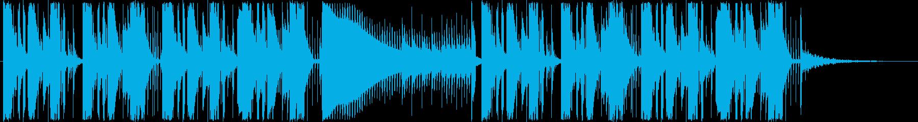 ジングル - トライアングルEDMの再生済みの波形