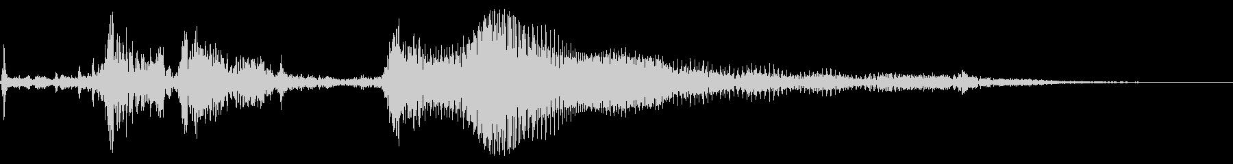 1960年代のキャデラックホットロ...の未再生の波形