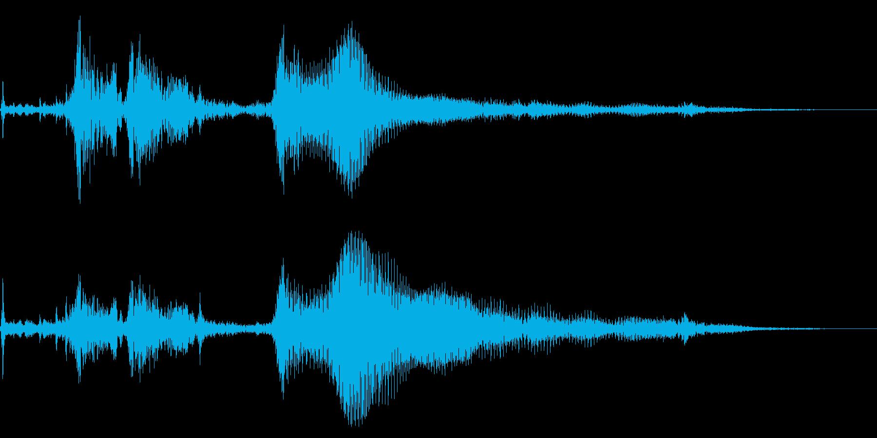1960年代のキャデラックホットロ...の再生済みの波形