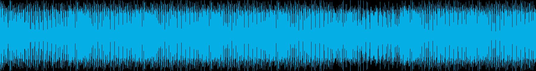 クールな感じが化学反応を起こしたテクノの再生済みの波形