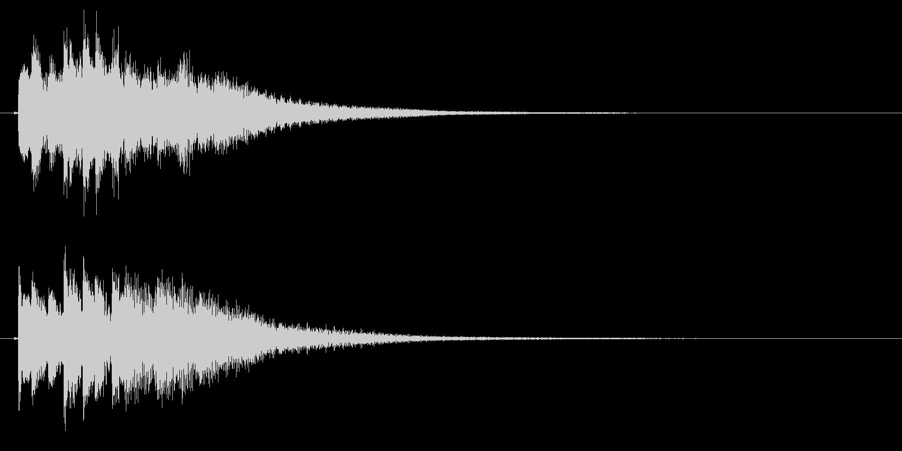 琴のフレーズ1☆調律1☆リバーブ有の未再生の波形