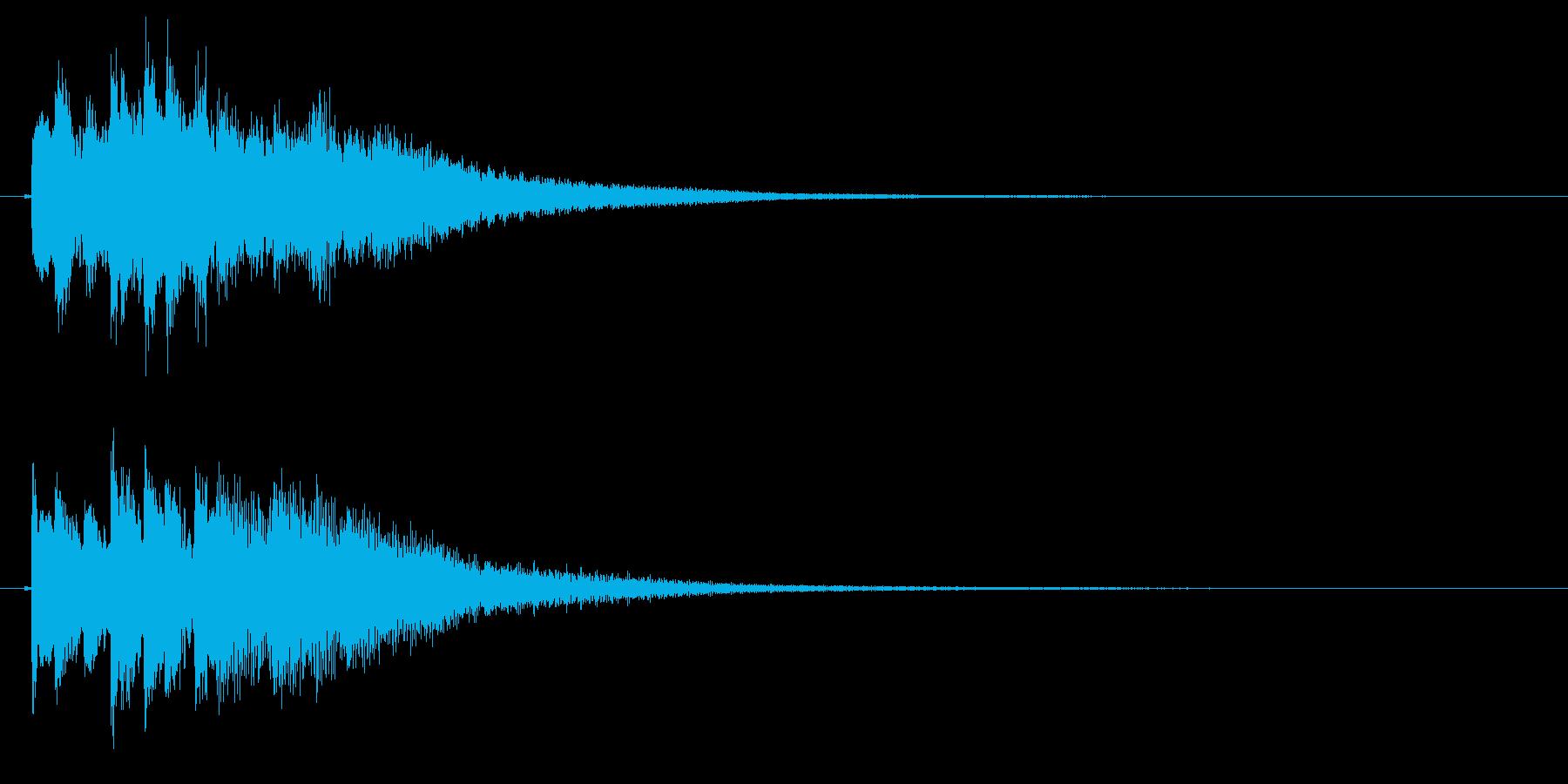 琴のフレーズ1☆調律1☆リバーブ有の再生済みの波形