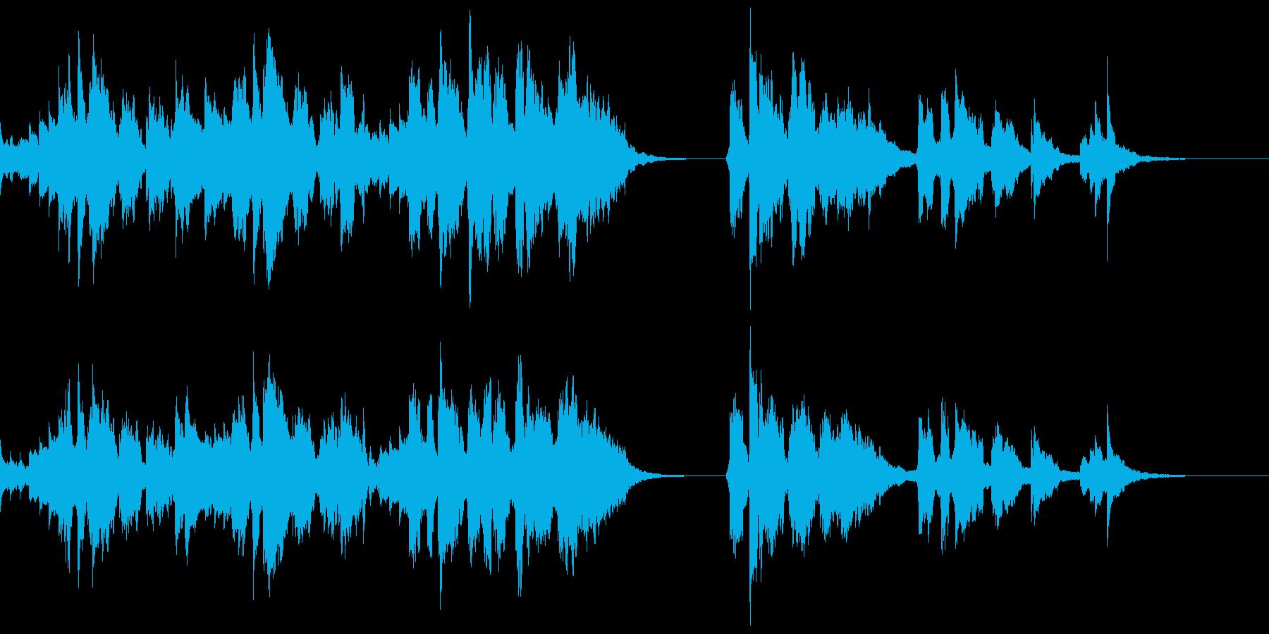 甘いオルゴール伴奏☆ハッピーバースデーの再生済みの波形