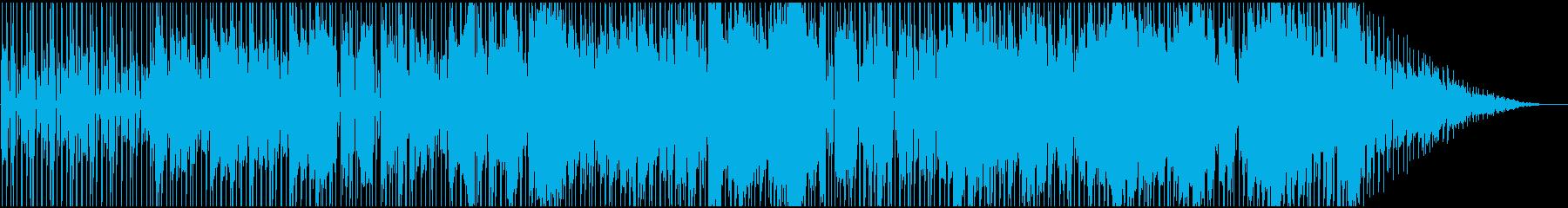 サックスとギターによるダークなファンクの再生済みの波形