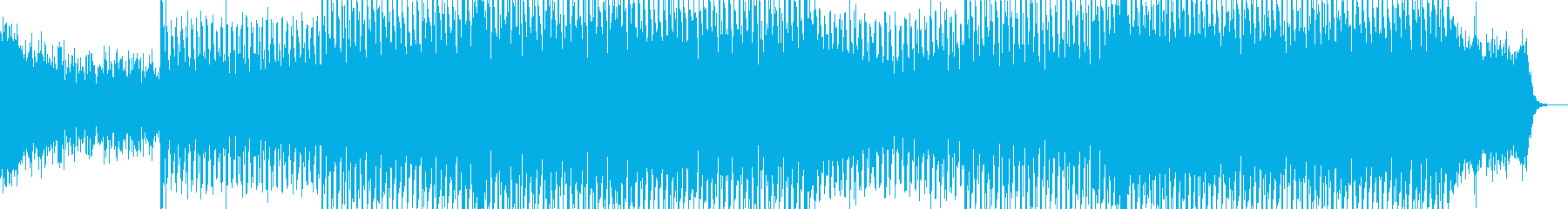 EDMポップで明るいクラブ系-121の再生済みの波形